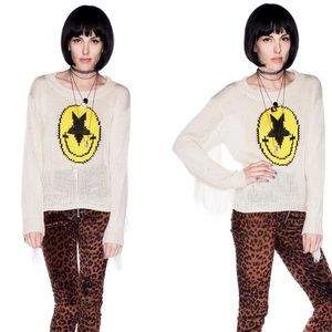 UNIF Evil Face Sweater